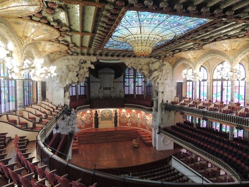 Palau-Musica-soir-barcelone