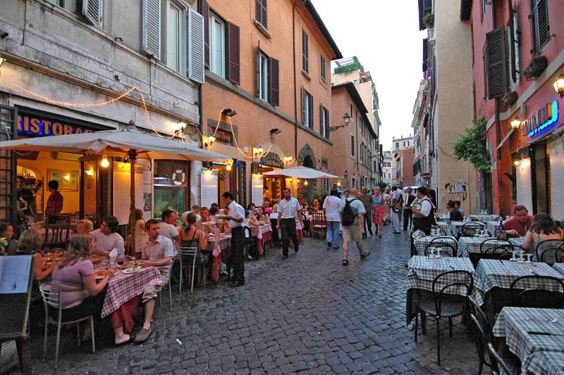 Trastevere-Rome-quartier-logement
