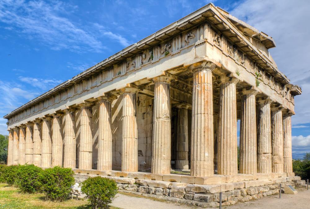 Héphaïstos-temple-voir-athenes