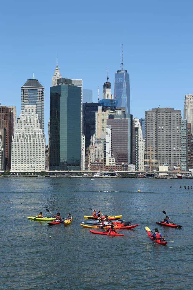 kayak-hudson-new-york-activite-gratuite