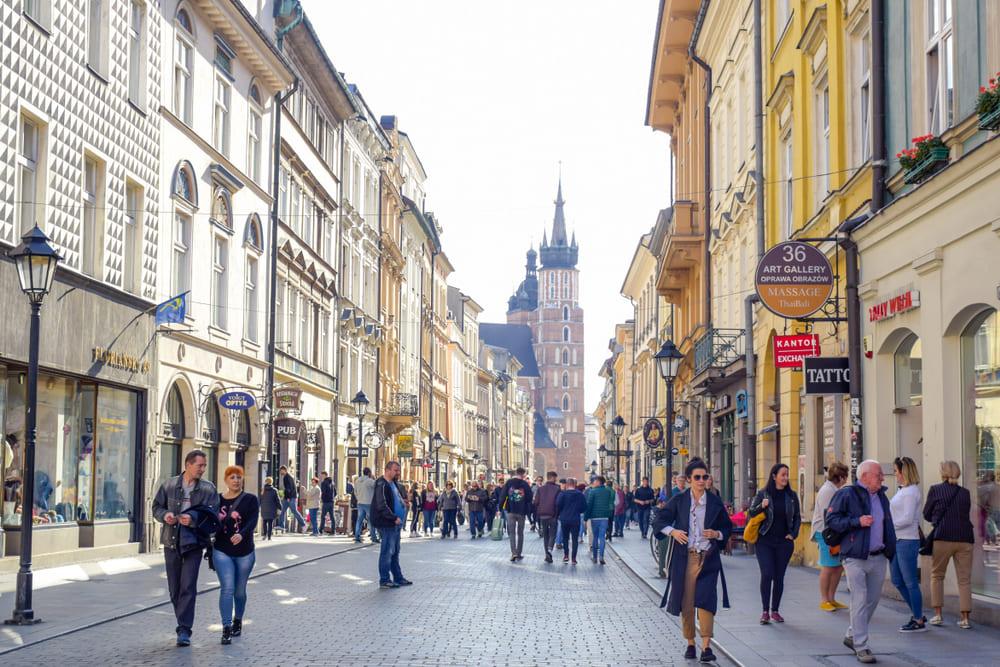 Rue-Florianska-cracovie