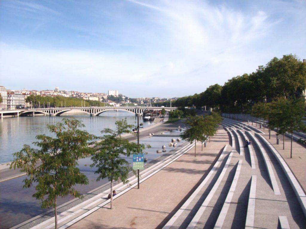 Berges-rhône-Lyon