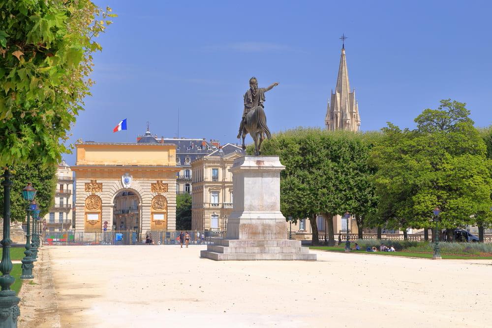 Place Royale du Peyrou-montpellier-faire