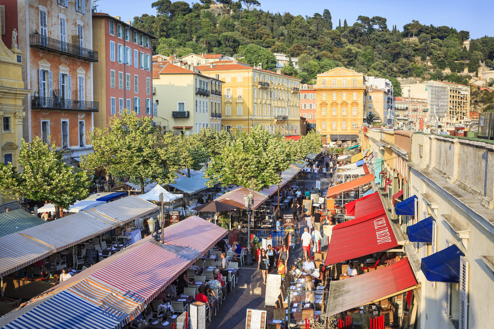 marche-nice-Cours Saleya-visite