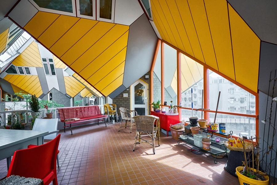 Rotterdam-cubic-house-interieur-visite